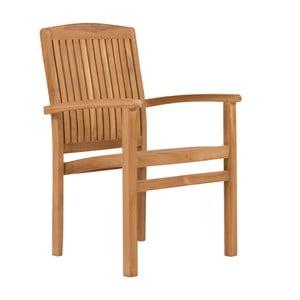 Zahradní židle z teakového dřeva SOB Garden