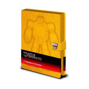 Zápisník A5 Pyramid International Transformers Bumblebee, 120 stran