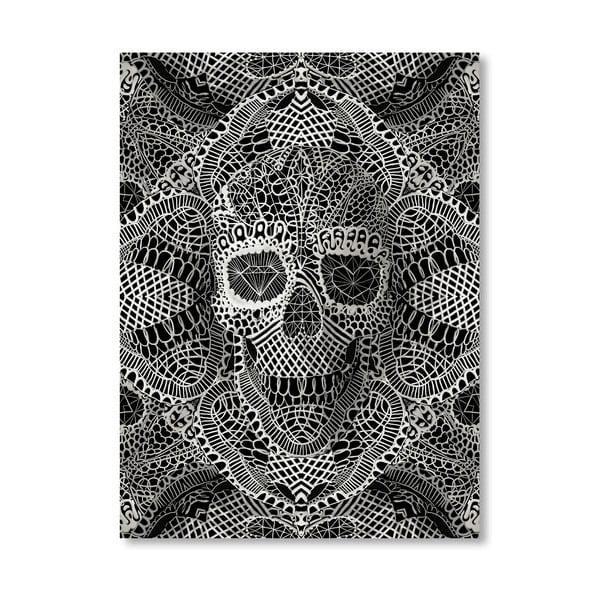 Autorský plakát Skull Laces