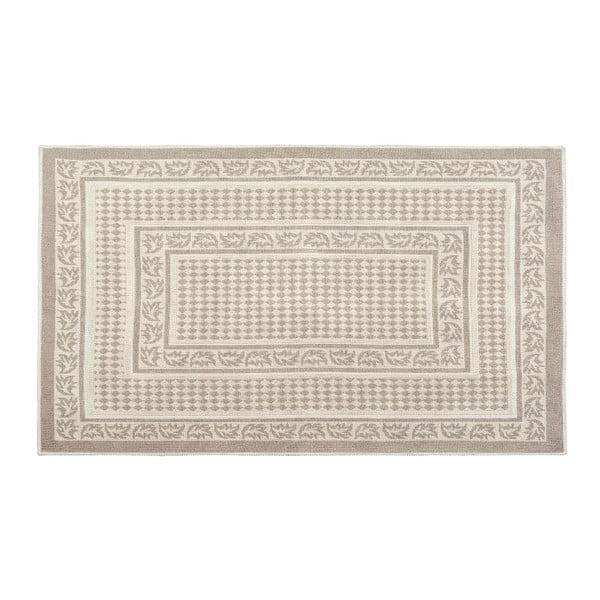 Krémový bavlněný koberec Floorist Regi, 80x150cm