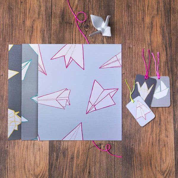 Sada na balení dárků Mixed Origami