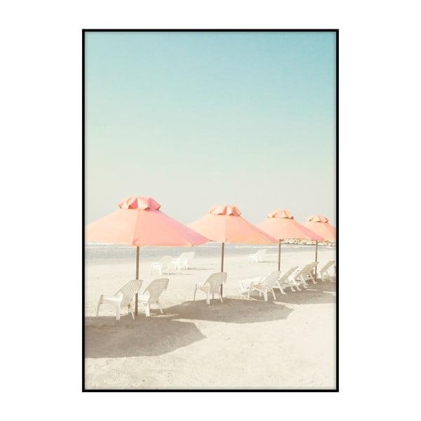 Plakát Imagioo Vintage Beach, 40x30cm