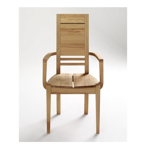 Židle s područkami SIT z buku