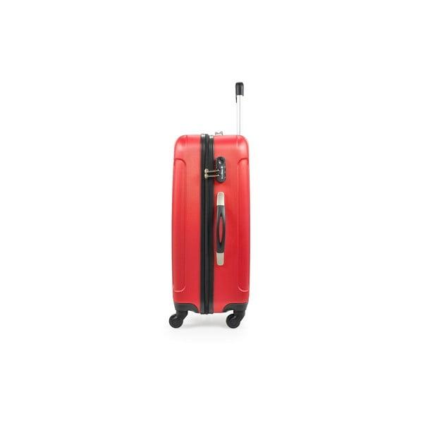 Sada 3 kufrů Brand Developpement Loisa, červená