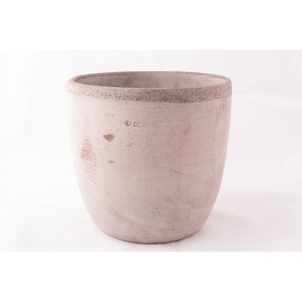 Keramický květináč Oll 26 cm, šedý