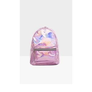 Růžový dámský batoh Mori Italian Factory Neon