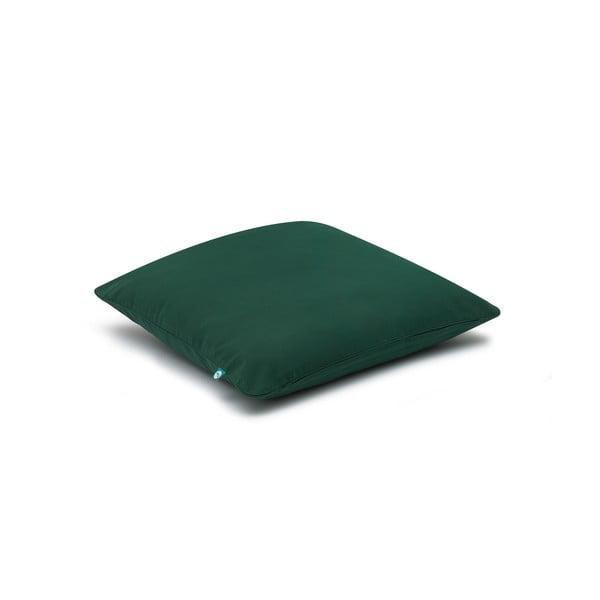 Tmavě zelený povlak na polštář Mumla Basic, 40 x 40 cm