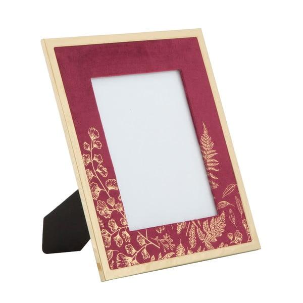 Ramă foto Mauro Ferretti Glam, 15 x 20 cm, roșu vișiniu
