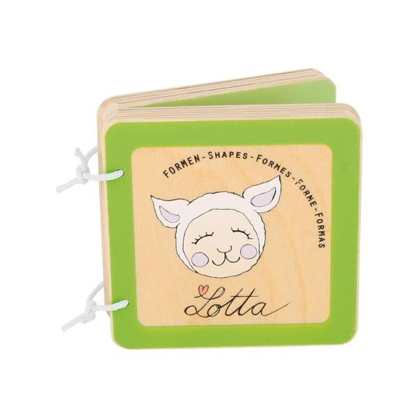 Detská drevená knižka Legler Lotta the Lamb