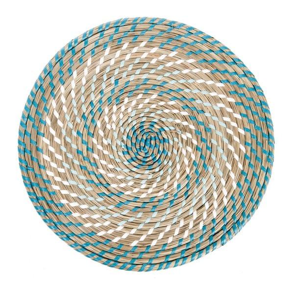 Prostírání Reed Blue, 39x39x2 cm