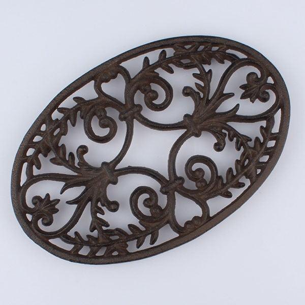 Litinová podložka pod hrnec Ornament