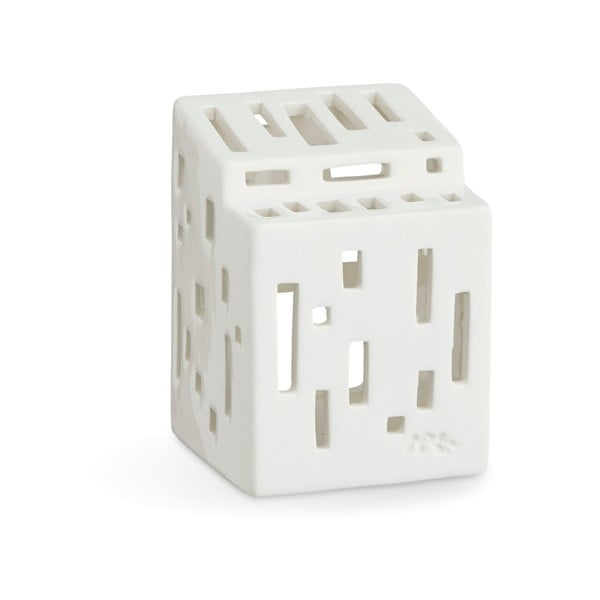 Urbania Lighthouse Functio fehér kerámia gyertyatartó - Kähler Design