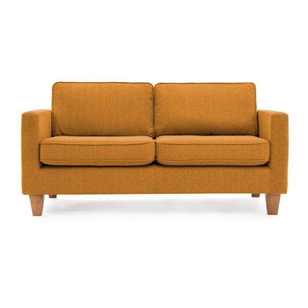 Canapea cu 3 locuri Vivonia Sorio, muștar
