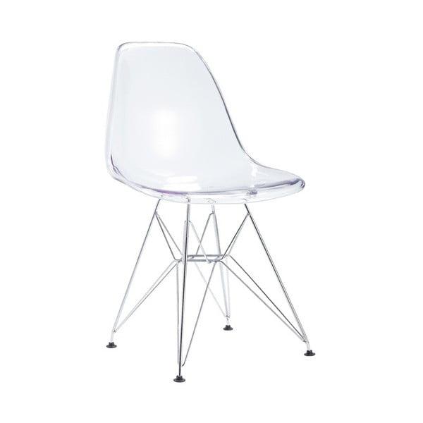 Průhledná židle Santiago Pons Parz