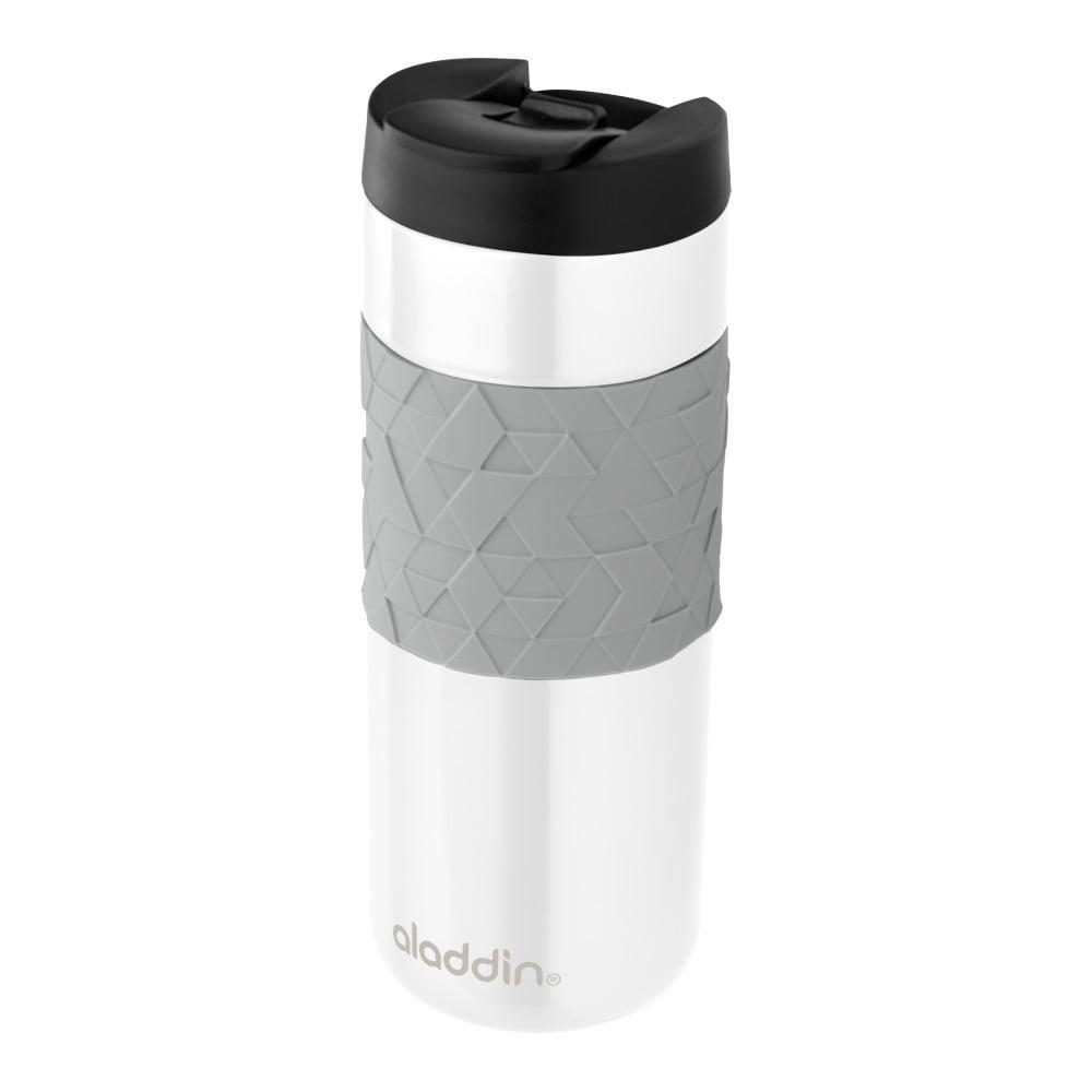 Bílý termohrnek Aladdin Easy-Grip Leak-Lock™, 470 ml