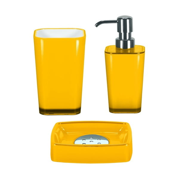 Koupelnový set Easy Yellow Set