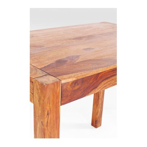 Barový stolek z lakovaného dubového dřeva Kare Design Attento, 120 x 60 cm