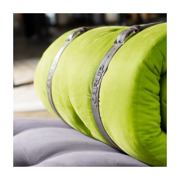 Variabilní pohovka Karup Buckle Up Gray/Lime