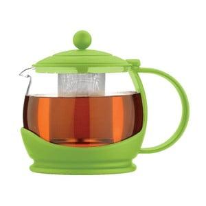 Konvice na čaj Colours Green 1,2 l