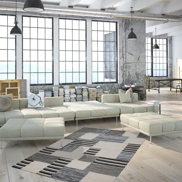 Vlněný koberec Omnia no. 2, 120x170 cm