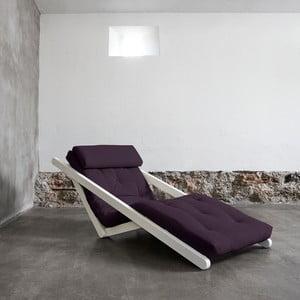 Lenoška Karup Figo White/Purple, 70 cm