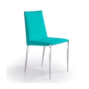 Tyrkysová jídelní židle Ángel Cerdá Lurdes