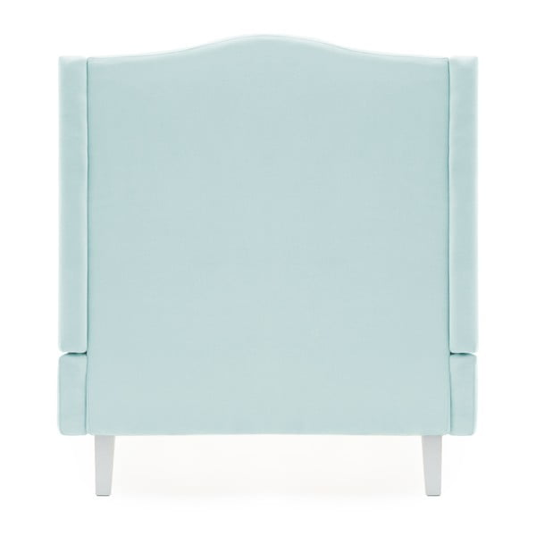 Dětská modrá postel PumPim Lara, 200x90cm