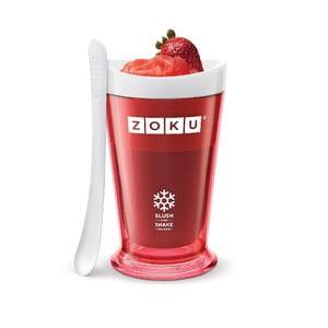Červený výrobník ledové tříště ZOKU Slush&Shake