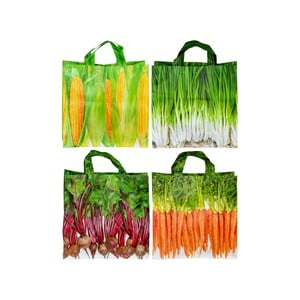 Sada 4 nákupních tašek Ego Dekor Colors