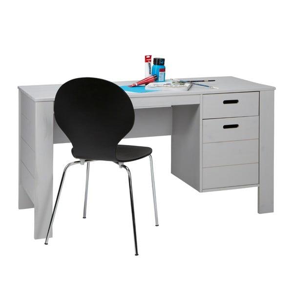 Pracovní stůl Sale, šedý