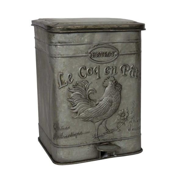 Kovový odpadkový koš Antic Line Bistrot