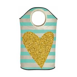 Úložný koš Butter Kings Gold Heart