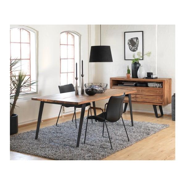 Černá jídelní židle Canett Johan