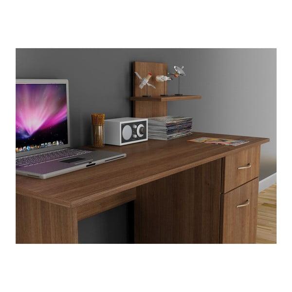 Pracovní stůl Lavanta Walnut