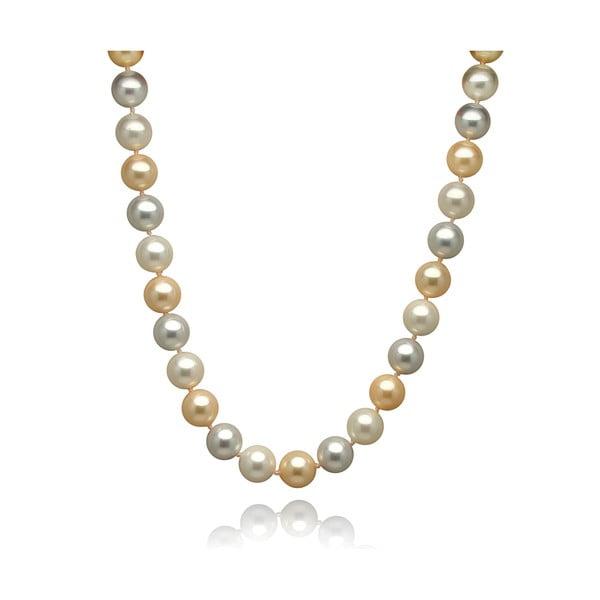 Zlatostříbrný perlový náhrdelník Mara de Vida Only Me, délka 52cm