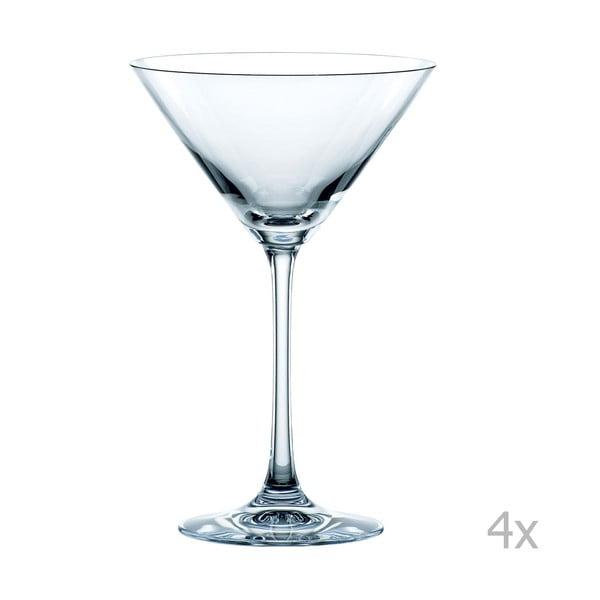 Sada 4 sklenic na Martini z křišťálového skla Nachtmann Vivendi Premium Martini Set, 195 ml
