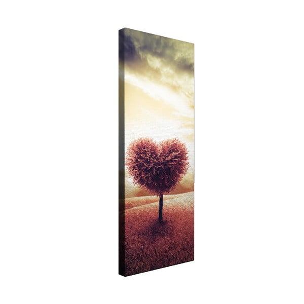 Obraz na płótnie Solid Heart, 30x80 cm