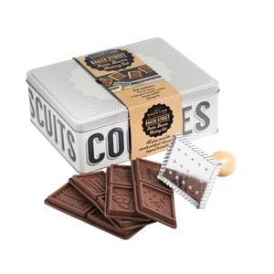 Box na sušenky se 4 formami a razítkem MasonCash Baker Lane