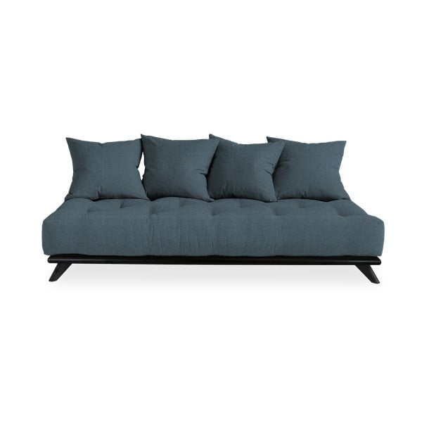 Pohovka Karup Design Senza Black/Dark Blue