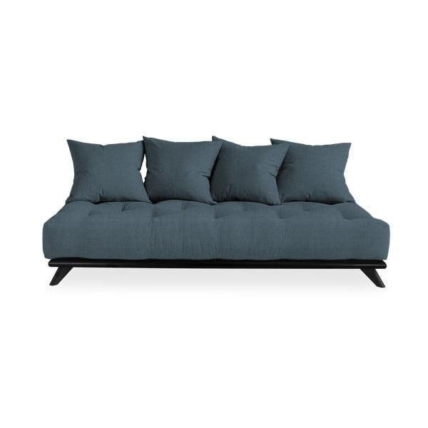 Canapea Karup Design Senza Black/Deep Blue, albastru închis
