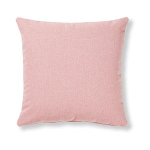 Růžový polštář La Forma Mak, 45 x 45 cm