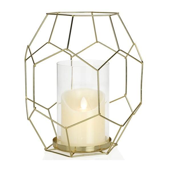 Svícen Gold Candle, výška 25.5 cm