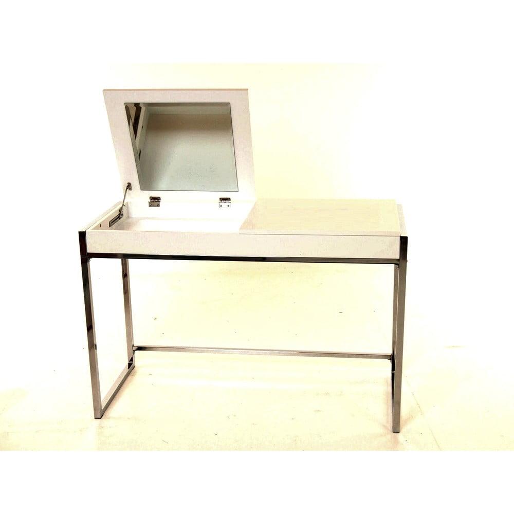 Bílý dětský psací stůl SOB Schmink