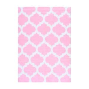 Růžový koberec nuLOOM State Pink, 122x183cm