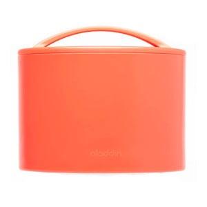 Termobox na svačinu Bento 600 ml, červený