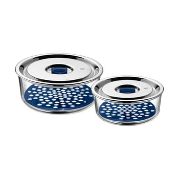 Set 2 boluri servire cu capac WMF, ⌀ 18 cm și ⌀ 15 cm de la WMF