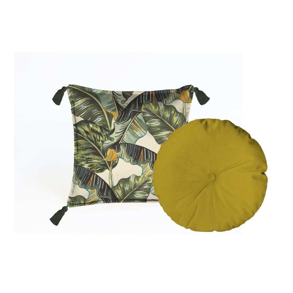 Sada 2 dekorativních polštářů Velvet Atelier Musa, 45 x 45 cm