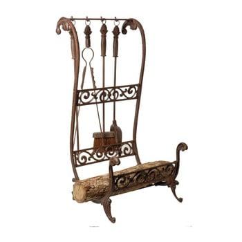 Suport metalic pentru lemne și unelte Antic Line Log imagine