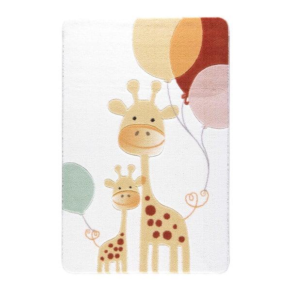 Kids World Giraffe gyerekszőnyeg, 100 x 150 cm