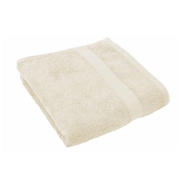 Jasnobeżowy ręcznik Tiseco Home Studio, 50x100 cm